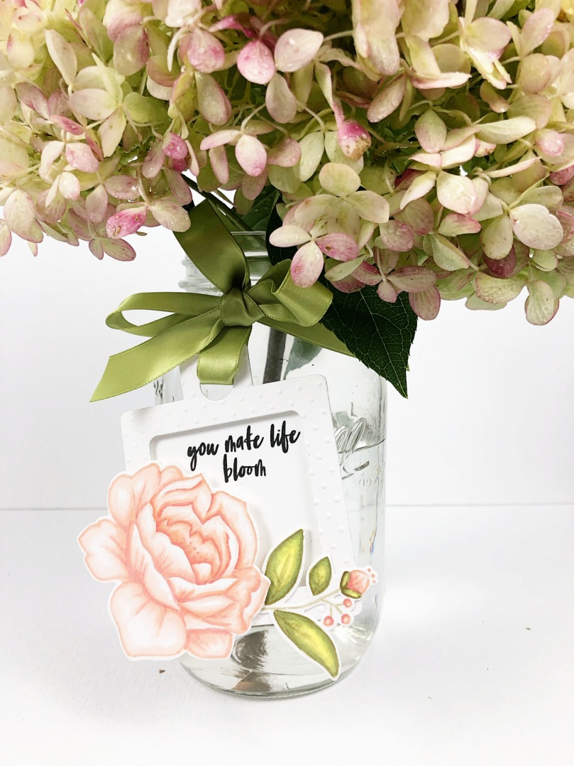 Bloom Tag Vase