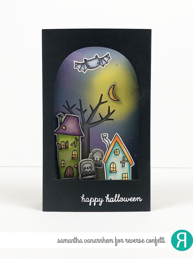 Halloween Shadowbox WM