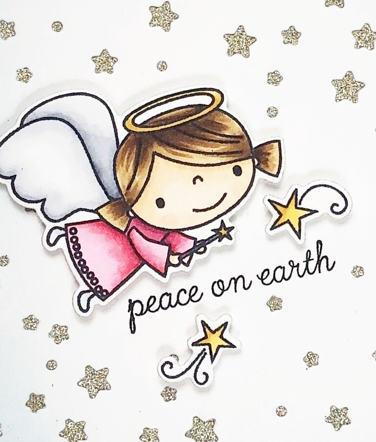 Peace on Earth Angel Close Up