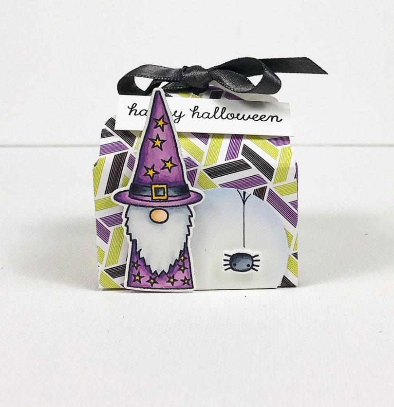 Treat Box Wizard Close Up